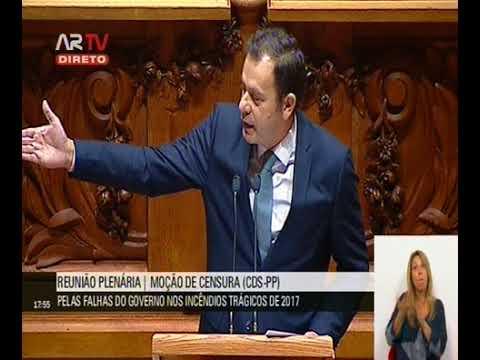 Intervenção de Luís Montenegro no debate da Moção de Censura ao governo