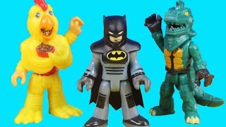 Imaginext Blind Bags Series 6 Surprise Toys With Imaginext City Center Police & Batman