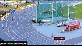 Moscow 2013 400M Hurdles Women Heat 1 IAAF World Championship