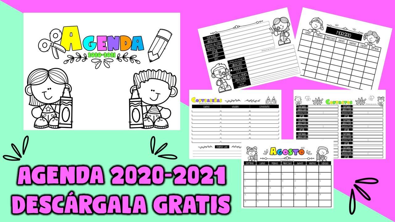 AGENDA 2020-2021 ¡TE LA REGALO!