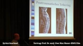 Prof  Dr  Med  Uwe Max  Mauer Vortrag / 6.syringomyelie-kongress/saarbrücken