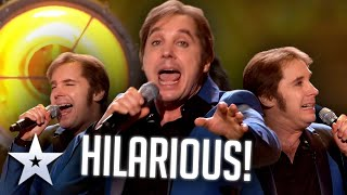WITTY comedian can do impressions AND sing! | Live Shows | BGT Series 9