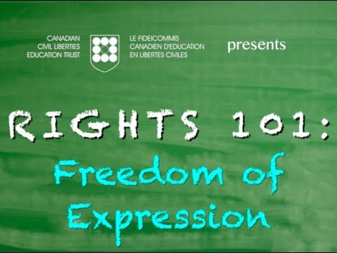 Rights 101: Freedom of Expression