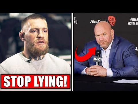 Conor McGregor GOES OFF on Dana White, Dana PISSED at Conor's leaked DM's, Adesanya celebr