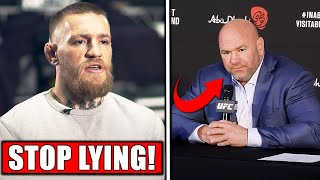 Conor McGregor GOES OFF on Dana White, Dana PISSED at Conor's leaked DM's, Adesanya celebrates win