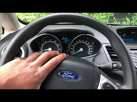 FORD FIESTA- Rear windshield wiper controls