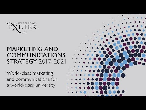 Marketing And Communications Strategy