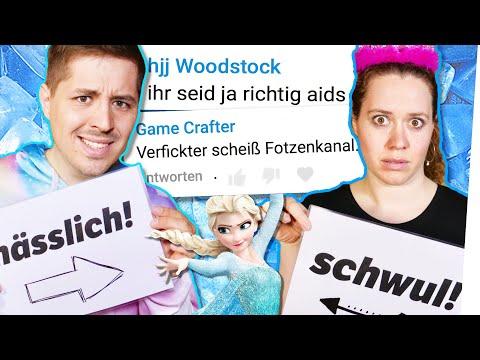 HATE Kommentare singen 😱 Let it go (Frozen) ☃️  UNSER 1. SONG! 🙉 Die Eiskönigin