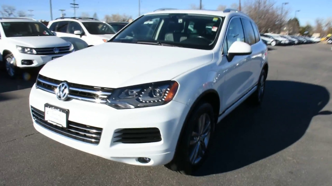Larry Miller Volkswagen >> 2013 Volkswagen Touareg at Larry H. Miller Volkswagen Lakewood - YouTube
