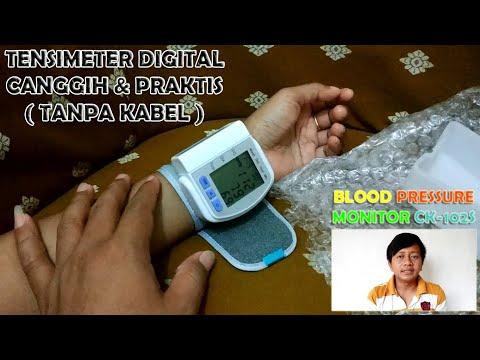 cara-menggunakan-tensimeter-digital-blood-pressure-monitor-ck-102s-tanpa-kabel-|-unboxing-&-review