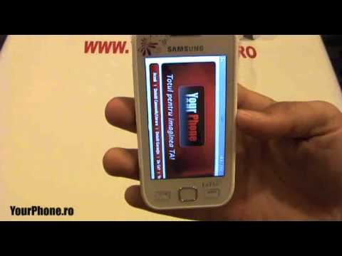 Samsung Wave 525 Review in Romana