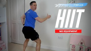 25 minute Home HIIT Workout with Salsa Music