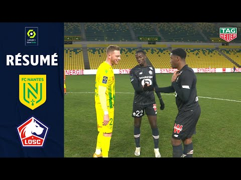 Nantes Lille Goals And Highlights