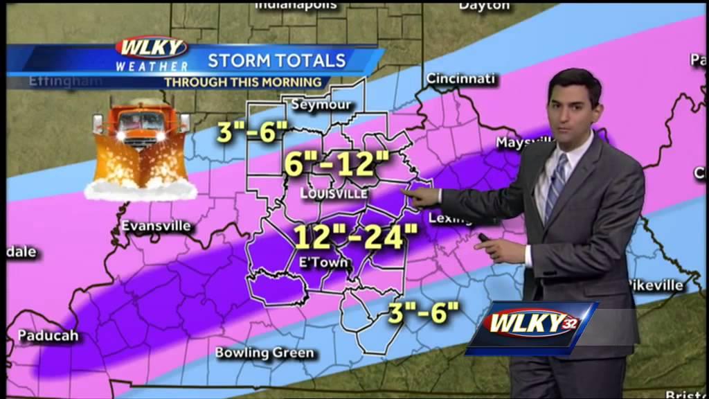 Thursday morning weather forecast - YouTube