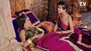 Bindusaar Blames Nandini for his Mother Durdhara no more   Nandini Pregnant   Chandra Nandini