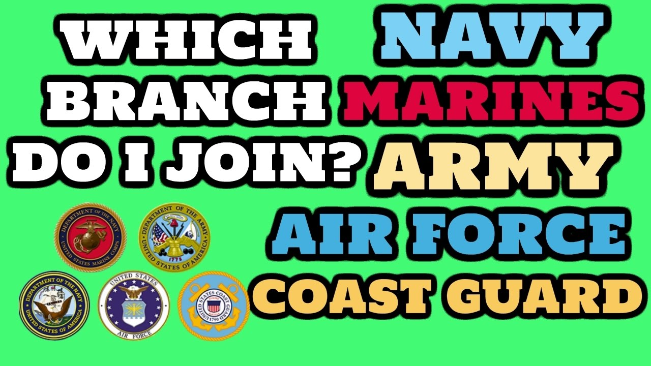 Best Military Branch To Join >> Best Military Branch Which Military Branch Should I Join