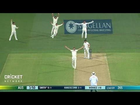 Second Test: Australia V England, Day Three
