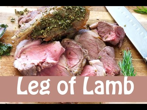 Boneless Leg Of Lamb -- The Frugal Chef
