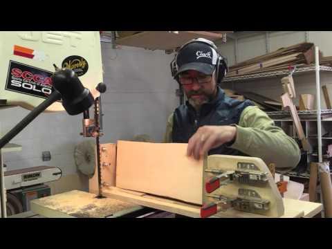 Resawing mandolin tops Pt2 Clark Mandolins