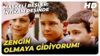 Maskeli Beşler İntikam Peşinde  Tekin, Yetimhaneden Ayrıldı  Türk Komedi Filmi