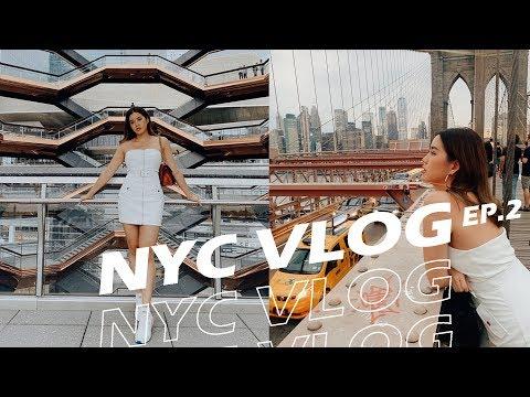 NYC Ep.2:: พาไปเจอกับ Influencer สายเเฟชั่นของนิวยอร์ก จะเป็นยังไง | Yingpcp