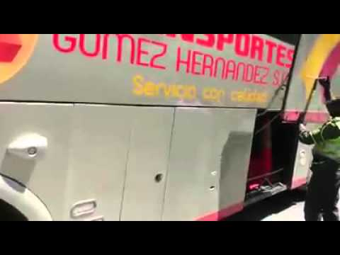 Bus con mariguana cañasgordas