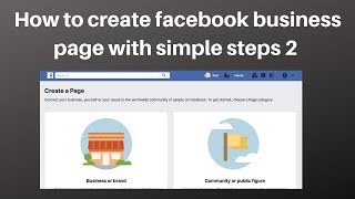 How to create facebook business page with simple steps 2 | Dig…