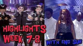 Highlights/Funny Compilation Week 7 - 8 | TNT Boys | w/ Eng Sub | YFSF Kids 2018