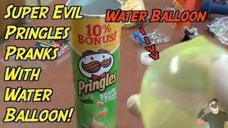 Evil Pringles Prank- HOW TO PRANK (Evil Booby Traps)