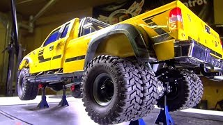 RC ADVENTURES - Intsall a DiESEL Sound Module (SK2) in Bumblebee-ST (Cross RC PG4L Build)