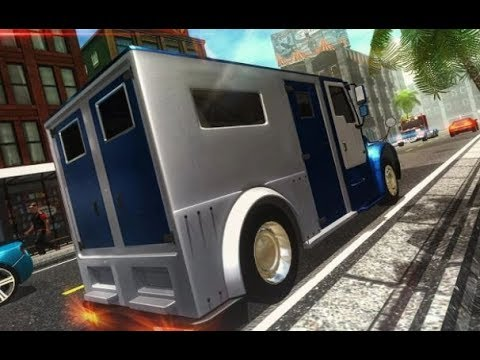 Bank Manager Cash Transport Truck - Android Gameplay HD