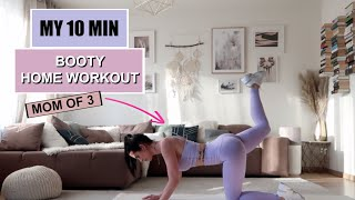 10 MIN BOOTY PUMP WORKOUT / No equipment I Bella Kraus