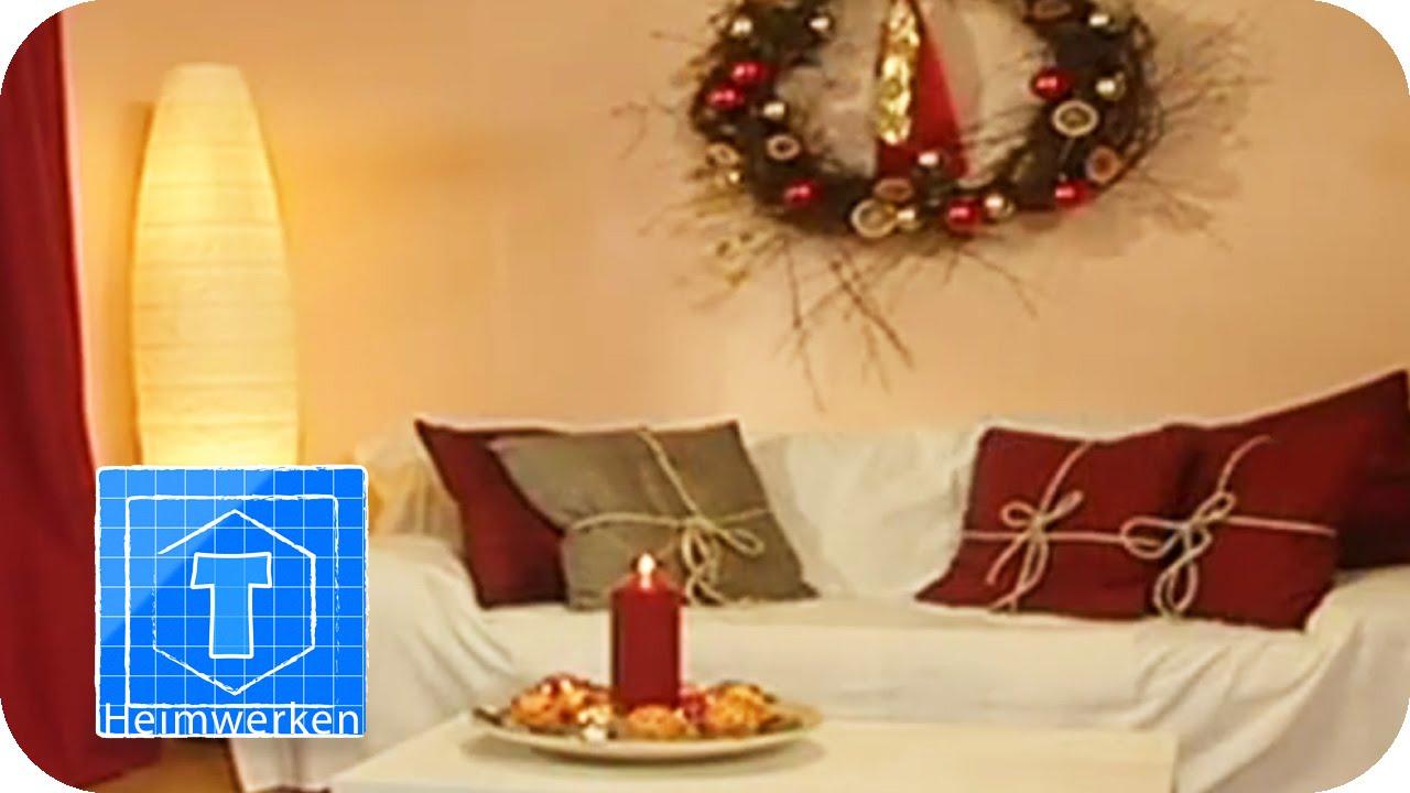 kranz aus sten sofakissen als geschenke diy. Black Bedroom Furniture Sets. Home Design Ideas