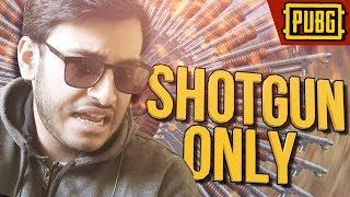 SHOTGUN ONLY CHALLENGE | PUBG INDIA | RAWKNEE