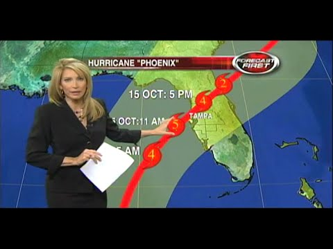 Category 5 Hurricane Phoenix hits Tampa Bay (worst case disaster scenario)