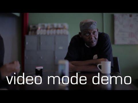 Cycloramic Video Mode Demo - iPhone5 app demo.
