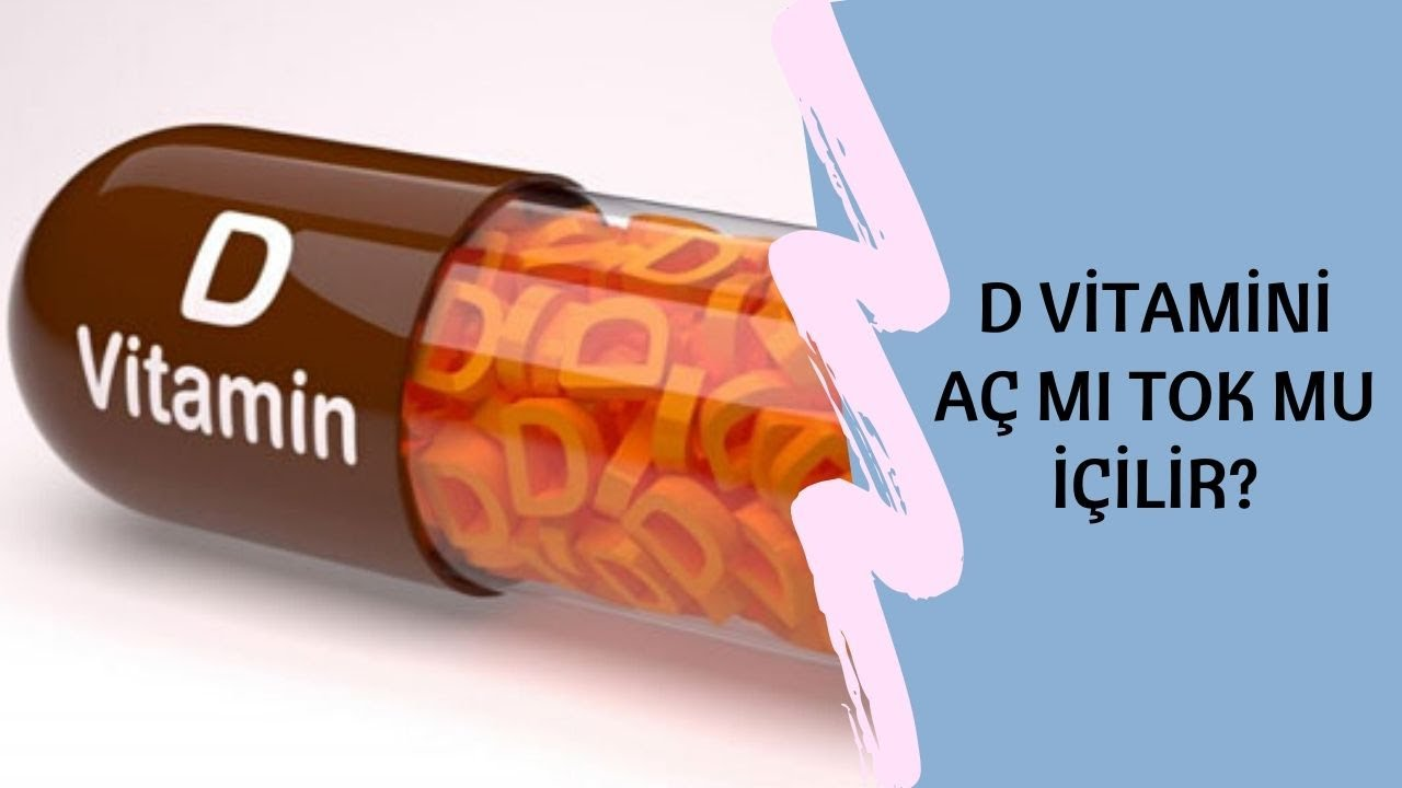 D Vitamini Ampul Nasil Kullanilir Ac Mi Tok Mu Icilir