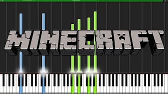 Minecraft themes piano - YouTube