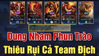 [Gcaothu] Dung Nham phun trào nhấn chìm team địch trong biển lửa - Thiệu rụi tất cả