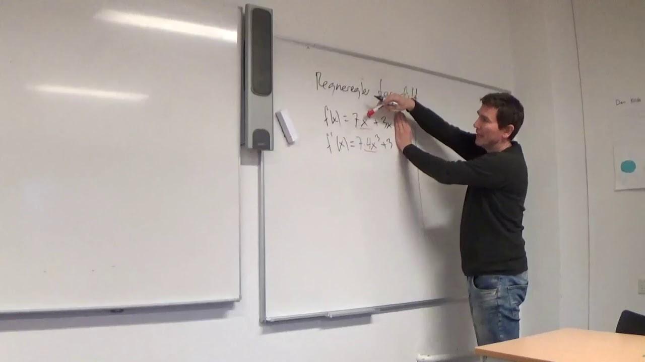 Mat B 6.3a Differentiation regneregler plus og minus