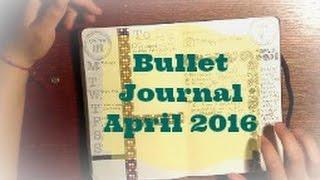 bullet journal april 2016