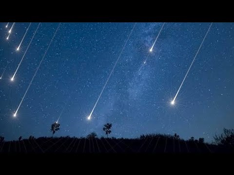 Lyrids Meteor Shower 22 April 2018