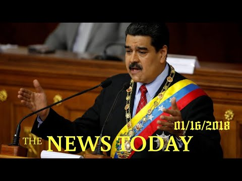 News Today 01/16/2018 | Donald Trump | U.S. Warns Investors Over Venezuela's 'petro' Cryptocurrency