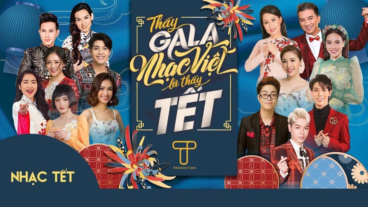 NHẠC TẾT 2020 - Tết Đến Thật Rồi - NHẠC TRẺ tưng bừng đón xuân | Playlist Gala Nhạc Việt