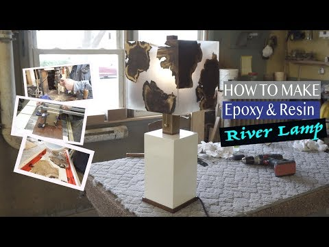 How to Build Epoxy Resin River Lamp