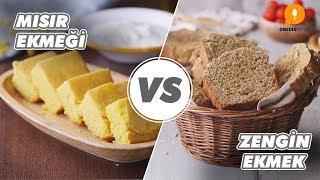 Mısır Ekmeği vs Zengin Ekmek - Yöresel Lezzetler