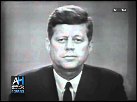 President John F  Kennedys Civil Rights Address