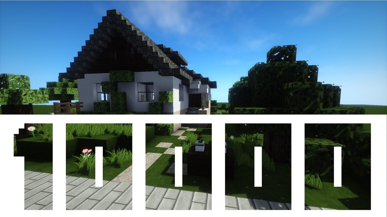 Ich Baue Mein Haus In Minecraft