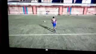 panenka penalty  fifa 11(messi)