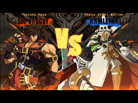 Fighting Game Bosses 202. Guilty Gear Xrd SIGN - Ramlethal Valentine boss battle |